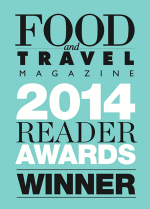 Food and Travel Awards Winner