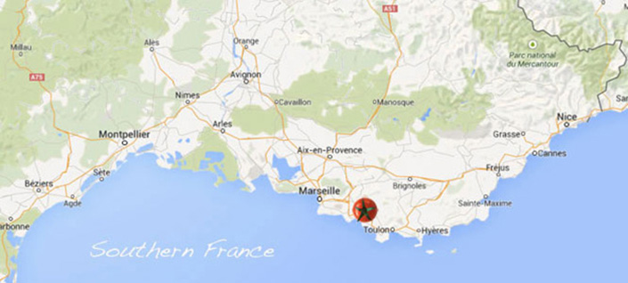 Tour---France---Passport-to-Provence---Map
